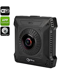 BW 720 Degree View Action Camera - Two Back To Back Cameras,