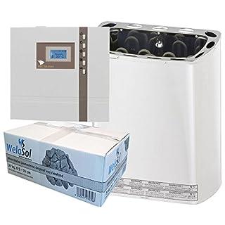 Well Solutions Saunaofen Scandia Mini mit EOS Sauna Steuerung ECON D1