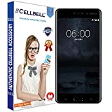CELLBELL® Tempered Glass Screen Protector For Nokia 3 (TA-1038) With FREE Installation Kit