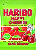 Haribo Happy Cherries / Mutlu Kirazlar, Helal / Halal, Gummibärchen, Weingummi, Fruchtgummi, 80g
