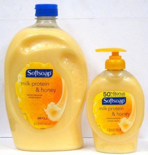 softsoap-liquid-hand-soap-milk-protein-honey-1125-oz-pump-bottle-56-oz-refill