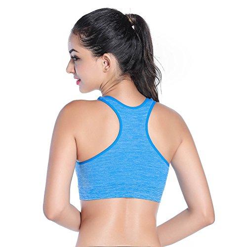 Etosell Femmes De Yoga Sports - Gym Soutien-gorge Vest Bleu