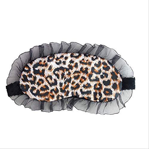 Augenmaske für schlafende Frauen, Spitze Auge Blinde Auge Schlaf Maske Augen-Patch, verstellbare Schultergurt Brille, Herren und Frauen Schlafmasken gold