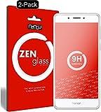nandu I ZenGlass [2 Stück] Flexible Glas-Folie für Huawei Honor 6C Panzerfolie I Display-Schutzfolie 9H I (Kleiner Als Das Gewölbte Display)