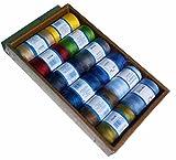 Nähmaschinen-Spulen-Farbe + Mini Set, Modern -