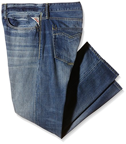 Replay Herren Straight Leg Jeanshose NEWBILL Blau (Blue Denim 9)