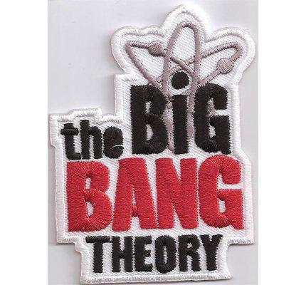 TBBT The Big Bang Theory Logo Sheldon Cooper T-Shirt Aufnäher Patch