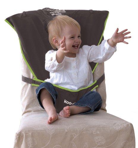 Koo-di Seat Me Safe Travel Seat (Grey/ Green) 51bB0fwPM8L