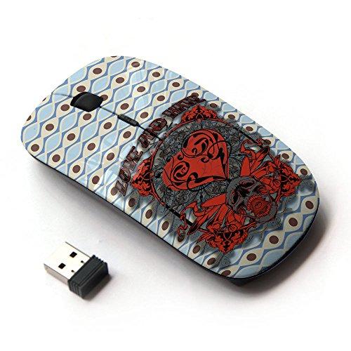 KOOLmouse [ Mouse Senza Fili Ottico 2.4G ] [ Love Skull Tiger Eye ]