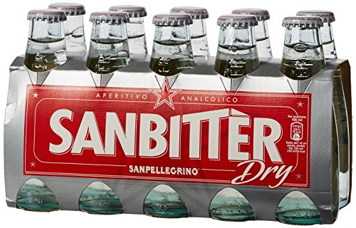Sanbittèr bianco dry 10 x 100 ml. - Sanpellegrino Aperitivo Sanbitter