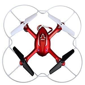 Syma X11 X11C X12S X13 2.4GHz 4CH 6-Axis Gyro 360-degree Eversion Mini Remote Control Helicopter R/C Quadcopter Drone UFO with LED Lights Propeller Protector from Syma