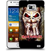 Official Iron Maiden Candle Finger Art Hard Back Case for Samsung Galaxy S2 II I9100