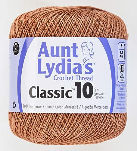 Crochet coton-cuivre Mist de tante Lydia