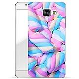 Finoo Samsung Galaxy A3 2016 Hard Case Handy-Hülle mit Motiv | dünne stoßfeste Schutz-Cover Tasche in Premium Qualität | Premium Case für Dein Smartphone| Marshmallows