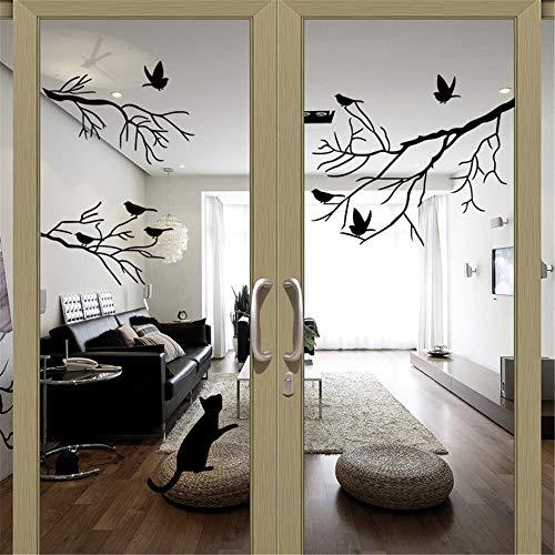 zzlfn3lv Zweig Vogel Fenster möbel wohn - und Schlafzimmer dekorative Wand Aufkleber 1. -