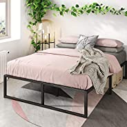 Zinus EU-SMPB-14 Platforma Bed Frame, Metal, Single