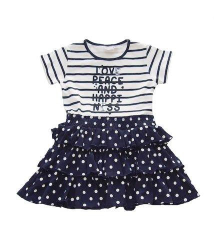Blue Seven Mädchen Kleid 71867 Blau