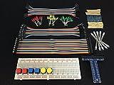 [Sintron] nueva 40 pin T-Cobbler GPIO placa de extensión junta Starter Kit con RGB LED interruptor de botón 830 puntos placa de pruebas para Raspberry Pi 2 modelo B 1 GB y B +
