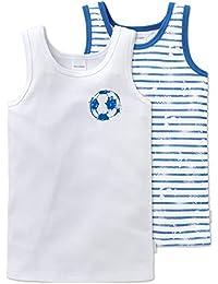 Schiesser Jungen Unterhemd, 2er Pack