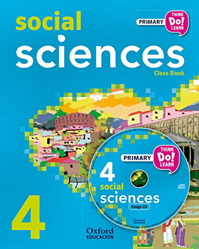 Think Do Learn Social Science 4th Primary. Student's Book (+ CD) - 9788467392357