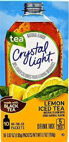Crystal Light Iced Lemon Tea 19g ON THE GO