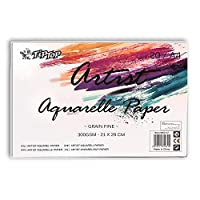 JMD Artist Aquarelle Paper Water Paper A4 Size 300GSM Sketch Book, Watercolor Paper Notepad For Painting Drawing Diary Creative Notebook