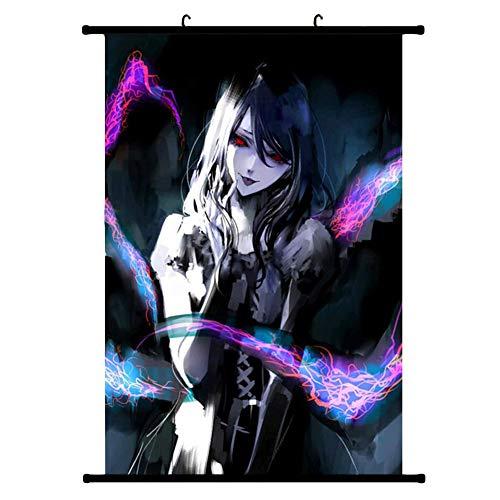 ALTcompluser Wallscroll Wandbanner für Tokyo Ghoul Dekorative Rollbild Wandbild Stoff Poster Anime(M #2)