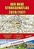 Straßenatlas 2020/2021 Deutschland/Europa: Deutschland - Österreich - Schweiz