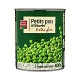 Belle France Petits Pois à l'Étuvée Extra Fins 800 g