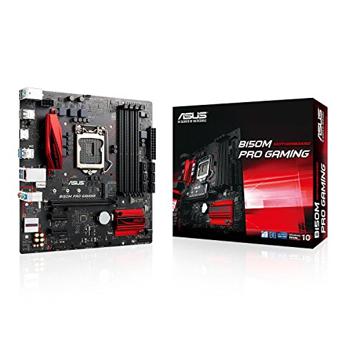 ASUS B150M PRO GAMING Intel B150 LGA 1151 (Socket H4) Micro ATX - Placa base (DDR4-SDRAM, DIMM, 2133 MHz, Dual, 64 GB, Intel)