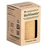 BioVitamin® Kapseln - rundum natürlich - plastikfrei und nachhaltig - zertifiziertes Bio Vitamin Komplex zum Nachfüllen - 100% Nahrungsäquivalent - vegan - 500mg - 60 VegeCaps