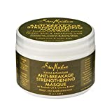 SheaMoisture 764302210184 mascarilla para el pelo - mascarillas para el cabello (Unisex, Water, Cetyl Alcohol, Cocos Nucifera (Coconut) Oil, Behentrimonium Methosulfate, Glycerin (Vegetable, Section clean, wet hair. Apply generously. Use a wide tooth comb to distribute evenly from root to e)