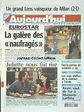 AUJOURD'HUI EN FRANCE [No 428] du 30/10/2002 - EUROSTAR - LA GALERE DES NAUFRAGES - JEUNES CONDUCTEURS - FINI LE PERMIS DE CONDUIRE A VIE - LES VRAIS CHIFFRES DE LA VIOLENCE A L'ECOLE - CINEMA - DECALAGE HORAIRE AVEC JULIETTE BINOCHE ET JEAN RENO - LES SPORTS - FOOT...