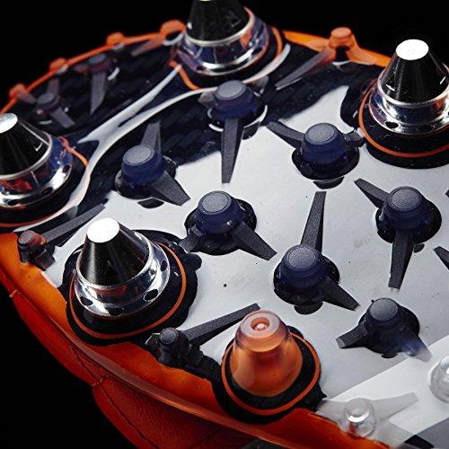 adidas Performance Ace15.1 Sg Leather Herren Fußballschuhe orange - schwarz - weiß