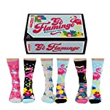 trendaffe Go Flamingo Oddsocks Socken in 37-42 im 6er Set - Strumpf