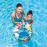 Disney Princess Arielle die Meerjungfrau Schwimmring Schwimm Ring Swim Ring Schwimmreifen aufgeblasen ca. 56 cm unaufgeblasen ca. 50 cm, PVC Folie ca. 0,20 mm Arielle super Schwimmspass Kinder Spass