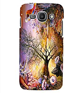 ColourCraft Creative Art Design Back Case Cover for SAMSUNG GALAXY ACE 3 LTE S727