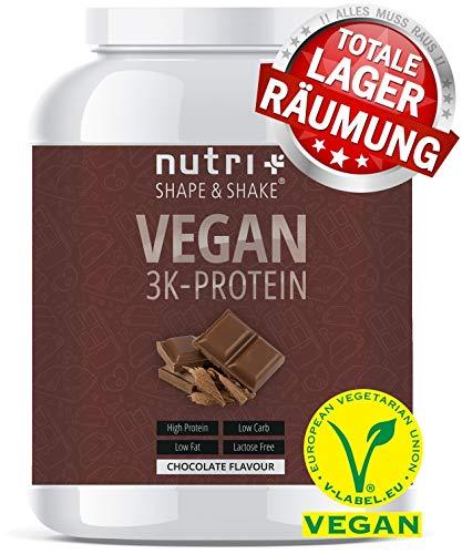 PROTEINPULVER VEGAN Schokolade 1kg - Low-Carb 3k
