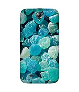 Green Candy Printed Back Cover Case For Lenovo A850