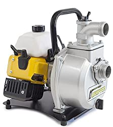 ✦ WASPPER PC114 ✦ Heavy-Duty & Portable Water Pump with 14000 l/hr Flow Rate, 30m Water Lift, 10000 RPM Petrol Engine and Included Accessories