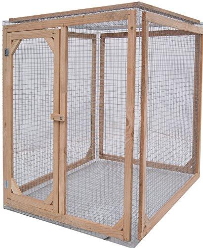 Enclos poule anti-prédateurs hauteur 150 cm made in france Taille 1 mètre