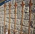Steckzaun / Rankhilfe Roma Rost - Höhe 170cm Rankgitter von kuheiga - Du und dein Garten