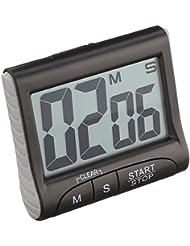 TFA dostmann 0 Elektronischer Timer mit Stoppuhr Tfa 38.2021.01 Schwarz, 0