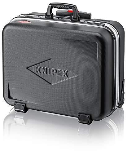 """KNIPEX 00 21 06 LE Werkzeugkoffer \""""BIG Basic Move\"""" mit integrierten Rollen und Teleskopbügel leer (Neu)"""