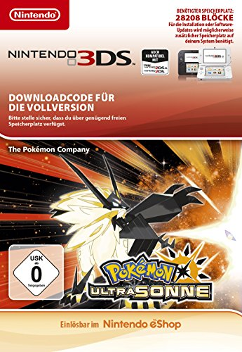 Pokemon Ultra Sonne [Nintendo 3DS Download Code]