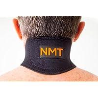 NMT Neck Brace 'Collar Terapéutico NMT' ~ Alivia el Dolor de Cuello y Cabeza ~ Artritis, Tortícolis, Apnea, Tensión ~ Portatil, Ajustable ~ Remedio Turmalina Natural de Curación para Hombres, Mujeres