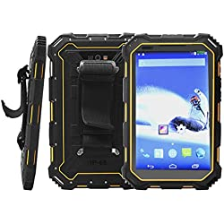 Outdoor Rugged Tablet IP68 7.0 Android5.1 Quad Core CPU HD 1280 x 800 Resistente al Agua Golpes