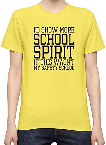 Spirit Funny Slogan Kurzarm-T-Shirt fŸr Frauen XX-Large (School Spirit Store)
