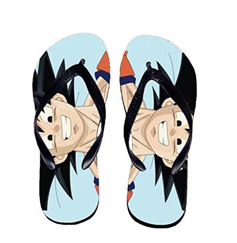 Bromeo Dragon Ball Anime Unisexe Flip Flops Tongs 896