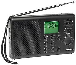 Medion Life E66311 - Tragbar - AM - FM - LW - PLL - SW - LCD - Blau - 3,5 mm - 17,5 cm 50049242